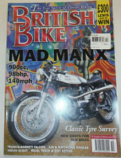 British Bike Magazine Mad Manx & Francis Barnett Falcon October 1995 012715R