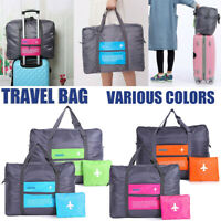 Foldable Large Duffel Bag Luggage Storage Waterproof Travel Pouch Tote Bag Case
