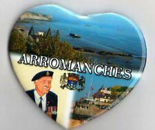 """WW2 - Magnet  Coeur """"Arromanches"""""""