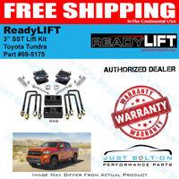 "ReadyLIFT 3""F 1""R SST Lift Kit for 2007-2017 Tundra TRD SR5 Rock Warrior 69-5175"