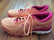 Hardly Worn! Asics Gel-Kayano 25 Women's Running Shoes - Orange/Pink - Sz 10
