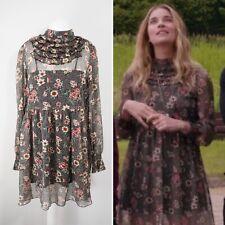 Zara Floral Mini Dress Size M Ruffles Frills ASO Alexis Rose Schitt's Creek BNWT