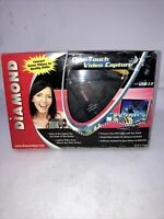 Diamond VC500 USB 2.0 One Touch VHS to DVD or PC Video Capture Device YouTube