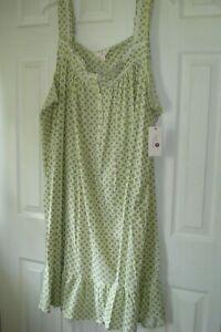 Ladies Plus Nightgown Size 4X Assorted Colors Secret Treasures