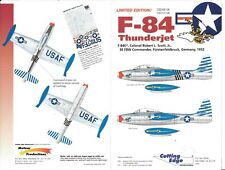Cutting Edge F-84E Thunderjet, Col. Robert L Scott, Jr.  Decals 1/48 108