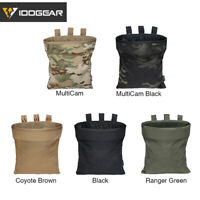 IDOGEAR Tactical Magazine Dump Pouch MOLLE Mag Drop Pouch Recycling Bag Military
