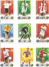 Match Attax Trading Cards; Fußball Bundesliga; 5 Trading Cards aussuchen aus...
