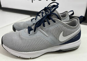 Nike DALLAS COWBOYS Wolf Grey Flywire Training Shoes Men's Size 10.5