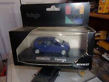 SOLIDO Renault Twingo VIOLETA FABRICADO EN FRANCIA 1/43 NUEVO EN CAJA
