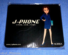 "Made In Japan:J-PHONE NORIKA,MOUSE PAD,ANIME,9"" X 7"""