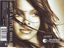JANET JACKSON - Just a little while 2TR CDM 2004 POP / HOUSE