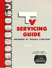 TV Servicing Guide - Arranged by Trouble Symptoms * CDROM * PDF