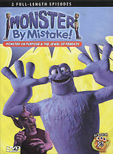 BRAND NEW Monster By Mistake - Monster on Purpose & Jewel of Fenrath DVD