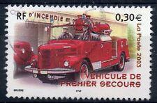 TIMBRE FRANCE OBLITERE N° 3618 VEHICULE DE SECOURS / Photo non contractuelle