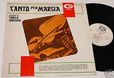 SAVINA:LP-CANTO PER MARSIA-ORIG.ITALY PROMO 1979 NM