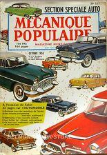 Mécanique Populaire n°113 - 1955 - Le smog - Section Automobile - Meuble toilett
