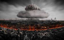 Nuclear Explosion Men T-Shirt Tee S M L XL 2XL 3XL