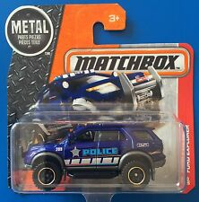 2016 Matchbox 2012 FORD EXPLORER INTERCEPTOR POLICE CSI CRIME SCENE UNIT mint!