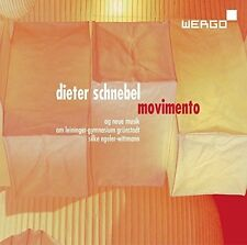 Movimento - Schnebel / Peters / Wittmann (2017, CD NIEUW)
