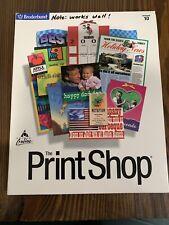 Broderbund The Print Shop Version 10 for Windows 95, 98, and NT