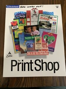 Broderbund The Print Shop Version 10 for Windows 95, 98, and NT