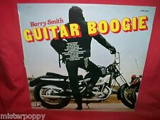 BARRY SMITH Guitar Boogie LP ITALY 1976 MINT- Biker Cover