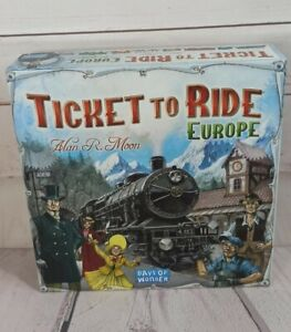 Ticket To Ride EUROPE by Days Of Wonder Board Game