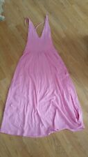 H&m Trend Pink Jersey Dress Size EUR 36