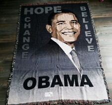 New Pure Country Weavers President Obama Blanket Tapestry Throw