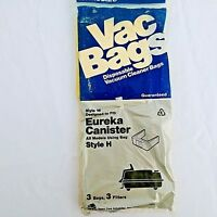 Eureka Canister Vacuum Bags Style H No.16 NEW