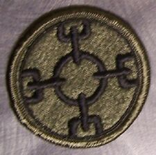 Embroidered Military Patch U S Army 310th Support Command New muted