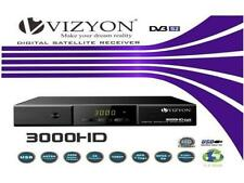 Vizyon 3000 HD FTA HDMI USB PVR Full HDTV 1080p DVB-S2 Sat Receiver