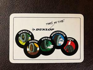 Dunlop Vintage Card