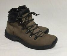 Rockport Ankle Boots Womens Brown Leather Sz 8.5 M Hydro-Shield Waterproof
