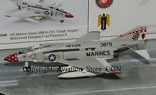 Herpa Wings 1/200 Douglas f-4j US Marines VMFA - 235 Death Angels
