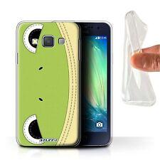 STUFF4 Gel/tpu Phone Case for Samsung Galaxy A3/a300 /animal Stitch Effect Frog