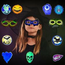 Halloween Easter Glow Sticks Eyeglasses Masks Necklaces ALL-IN-ONE Pack 12 pcs