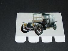 N°18 PANHARD LEVASSOR 1908 PLAQUE METAL COOP 1964 AUTOMOBILE A TRAVERS AGES