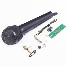 1PCS FM Frequency Modulation Wireless Microphone Suite Electronic Teach DIY Kit