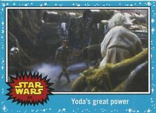 Star Wars Journey To The Force Awakens Base Card #54 Yoda's great power