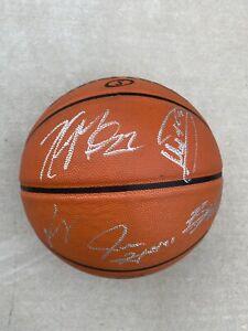 2021 Milwaukee Bucks team signed basketball NBA Finals 14 Autos Giannis