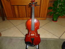 2014 Full Size Wm Lewis & Son Natural Acoustic Violin Fiddle With Bow & Case