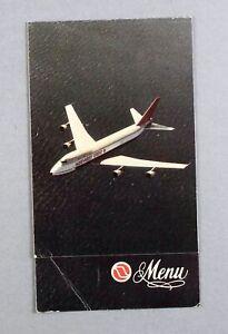 NORTHWEST ORIENT BOEING 747 VINTAGE AIRLINE MENU