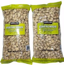 2 Pack Kirkland California Pistachios US #1 (Two 3 LB Bags) Roasted & Salted 6LB