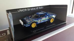 1/18 Sunstrar Lancia Stratos HF Rally Tour de Corse 1981 Winner Darniche-Mahe