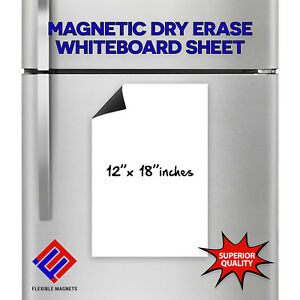 Flexible Magnetic Dry Erase White Board For refrigerator
