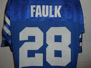 Vintage Starter 1995 #28 Marshall Faulk Indianapolis Colts Jersey