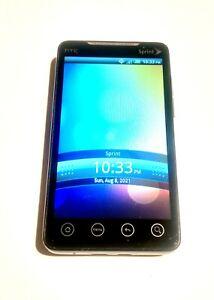 HTC  PC36100  EVO 4G  Black Sprint Smartphone Super Fast Shipping