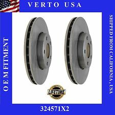 Front Brake Rotors For FORD FOCUS 2012-2013-2014-2015-2016-2017, C-Max 2013-2017