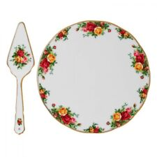 Royal Albert - Old Country Roses - Cake Plate 28 cm + Scoop Pie - DEALER